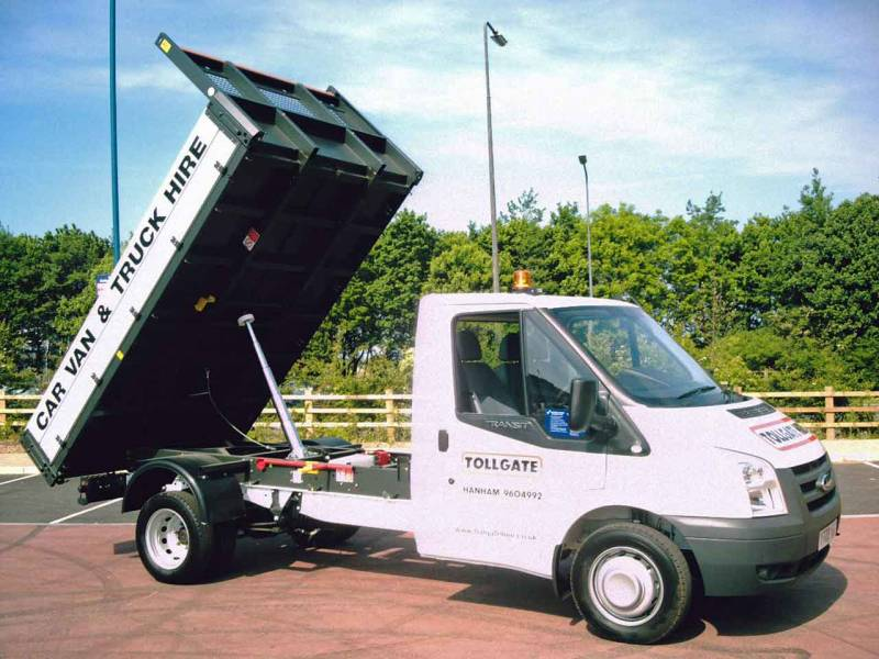 Ford Transit Tipper One Way Car Hire Deals