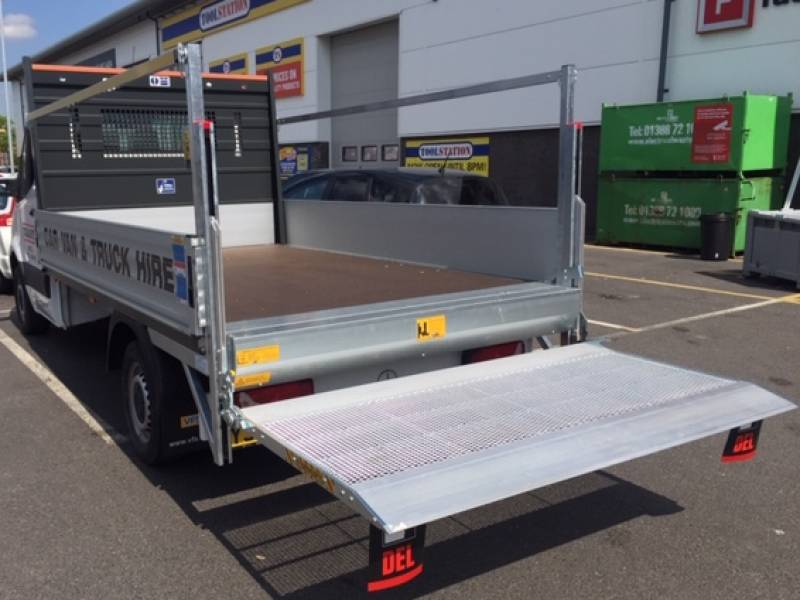 Mercedes 3.5 Ton Dropside Tailift Car Hire Deals